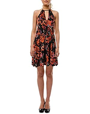 Guess Womens Sleeveless Knee-Length Casual Dress