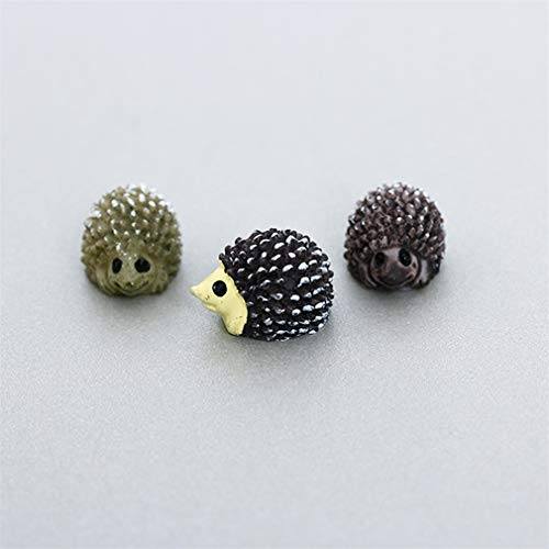 5Pcs Super Kawaii Mini Animals Garden Ornament Miniature Figurine Plant Pots Fairy Dollhouse Decor DIY Craft Accessories hedgehog]()