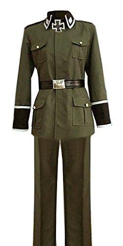 LYLAS Cosplay Costume Adult Green Full Sets Uniform (Male-XXL)]()