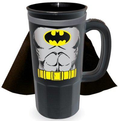 DC Comics Batman Character Caped 22 oz. Plastic (Character Beer Stein)