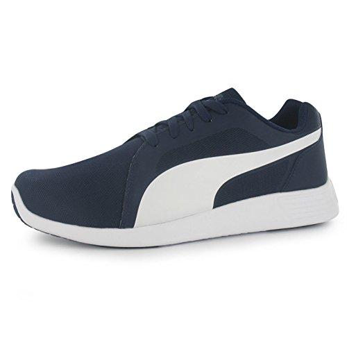 Puma St Trainer Evo–Zapatillas para hombre azul marino/blanco Casual zapatillas zapatos calzado, azul y blanco, (UK7) (EU40.5) (US8)