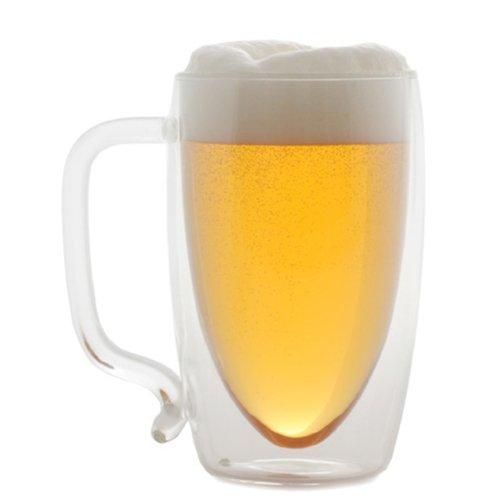 Starfrit 080061-006-0000 Double Wall Beer Mug, (Double Wall Beer Mug)