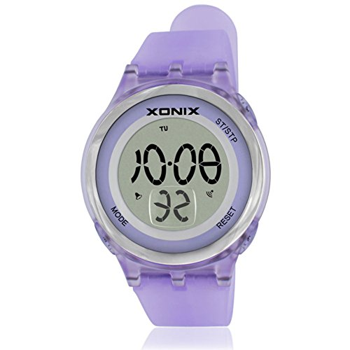 Girl Sport digital watch,30m waterproof Chronograph stopwatch Led Week Multifunction Thin Personalize-F by FXBNHDFMF