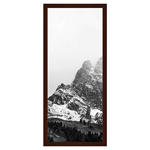 Frame It Easy 16 x 39 Bordeaux Wood Picture Frame