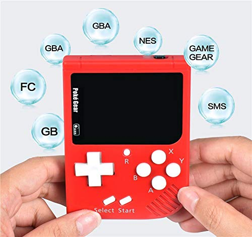 Retro Portable Mini Handheld Game Console 32-Bit 2.5 Inch LCD Colorized Kids Game Player with Rechargeable Li-Battery