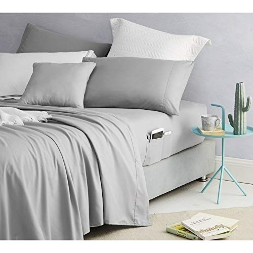 Byourbed Bedside Pocket Sheet Set - Supersoft Alloy (Twin XL)