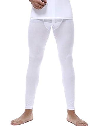 LaoZanA Pantaloni Termici Uomo Calzamaglia Lunga Taglie