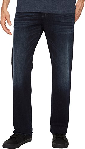 (7 For All Mankind Men's Luxe Performance Carsen Easy Straight Leg Jeans, Dark Current, Blue,)