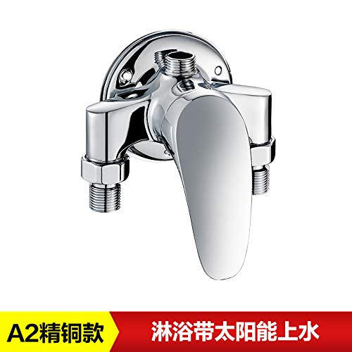 A2 Hlluya Professional Sink Mixer Tap Kitchen Faucet Lift out the shower suite in the copper tube fittings, showers and cold water tap water mixing valve,A6