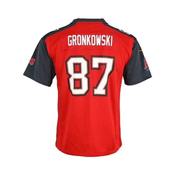 Nike NFL Tampa Bay Buccaneers Rob Gronkowski #87 Youth Boys (8-20 ...