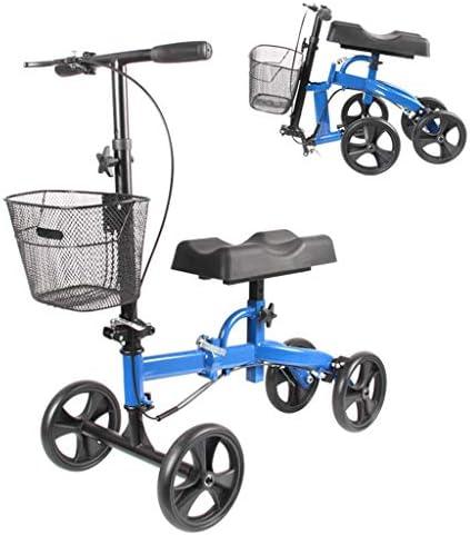Lootek Walkers, Knee Walker, Die Kompakteste Und Tragbarste Alternative Für Knie-Scooter-Krücken