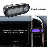 Maso Car Auto Digital Temperature Clock LED