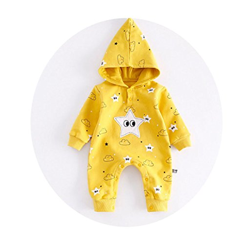 CARMELA HILL WILLIAMS Appliqued Costume Baby Clothes Pocket Overalls Autumn Warm Long Sleeve Baby Jumpsuit