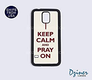 Galaxy S4 Case - Keep Calm Pray on by lolosakes