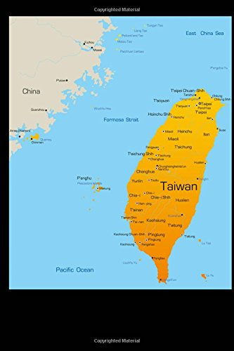 Download Map of Taiwan Journal: 150 page lined notebook/diary ebook