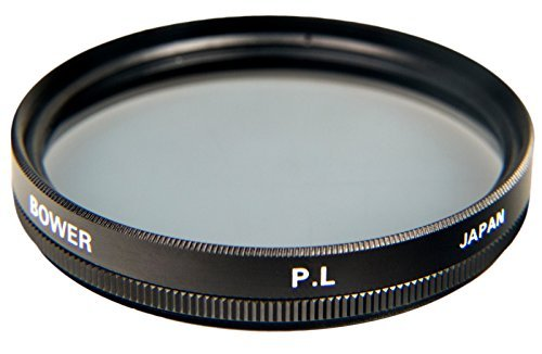 Bower FP67 67 mm Pro Digital High Definition Linear Polarizer Filter (Black) by BOWER