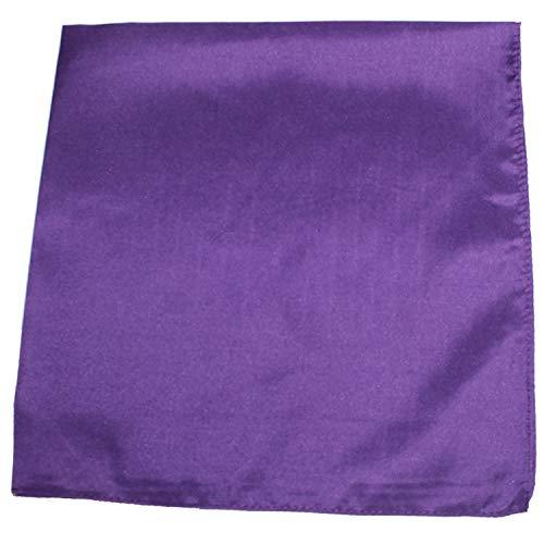 Set of 12 Solid 100% Polyester Unisex Bandanas