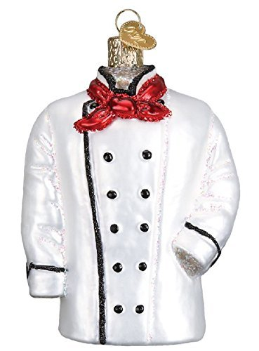 Chef Ornament Christmas - Old World Christmas 32311 Ornament Chef's Coat