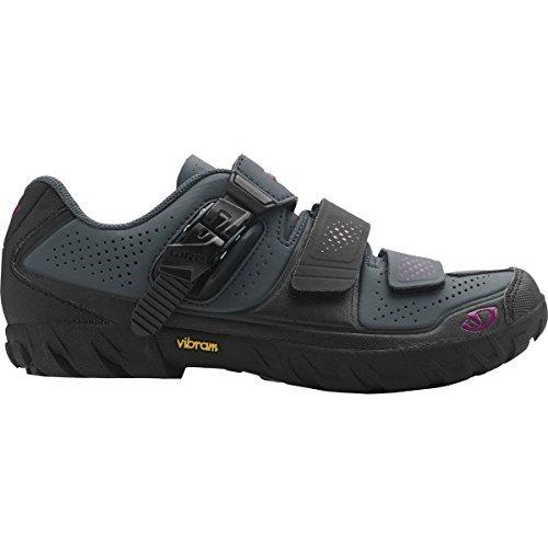 Giro Terradura Cycling Shoe - Women's Dark Shadow/Berry - Shoes Women Giro Cycling
