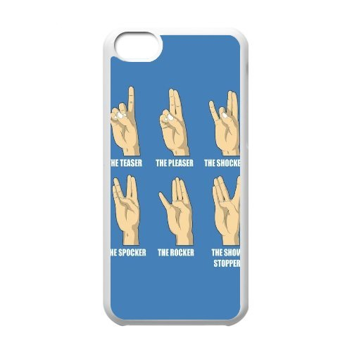 hot sale online c2397 b2d00 Amazon.com: Sexyass Hand IPhone 5C Cases Hand Signs for Teen Girls ...