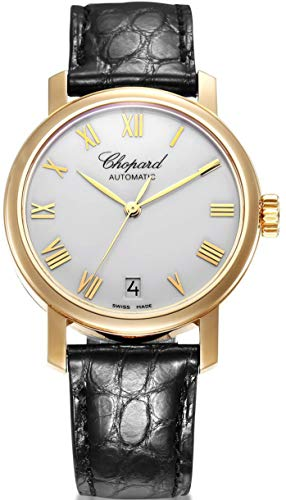 - CHOPARD Classic White Dial 18kt Rose Gold Automatic Ladies Watch