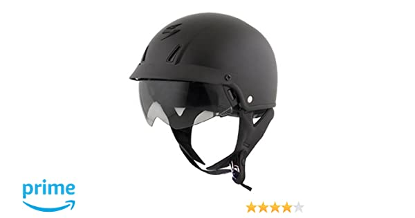 Amazon.com: Scorpion Solid EXO-C110 Cruiser Motorcycle Helmet - Black/X-Large: Automotive