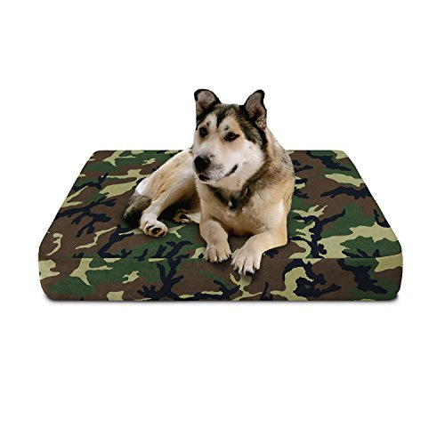 FREE SHIPPING Camouflage Memory Foam Hunting Bed Large  Dura