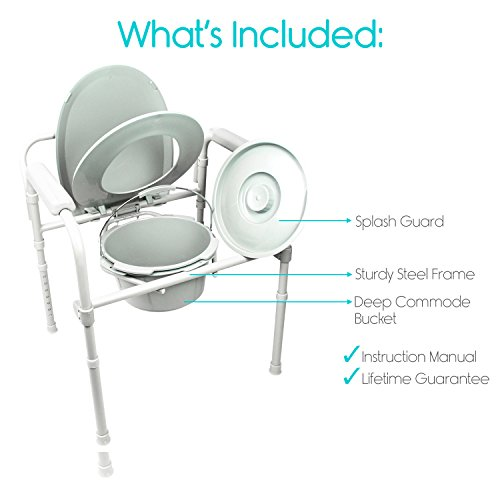 Commode-by-Vive-Bedside-Commode-for-Seniors-Handicap-Bariatric-Elderly-Portable-Lightweight-Folding-3-in-1-Medical-Toilet-Chair-with-Wide-Seat-Most-Liners-will-Fit