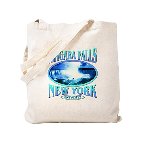 CafePress Niagara Falls Natural Canvas Tote Bag, Cloth Shopping Bag