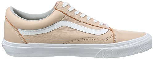 Vans Old Skool, Zapatillas Unisex Adulto Rosa (Leather QD6)