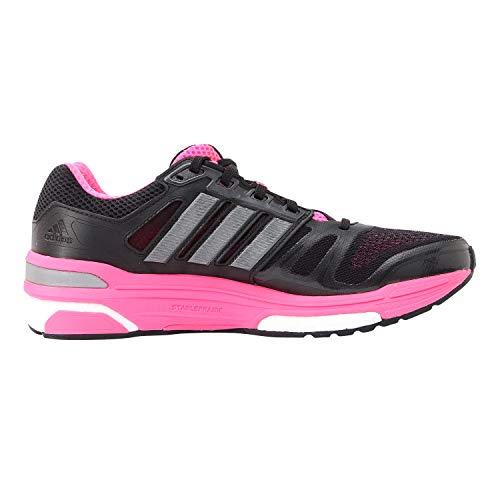 adidas nova stability laufschuhe damen schwarz pink