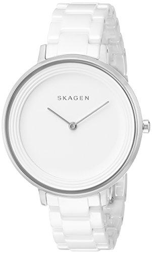 - Skagen Women's SKW2300 Ditte White Link Watch