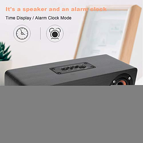 Bicaquu Subwoofer Wireless Bluetooth Speaker Desktop Computer Rest for Desktop Home