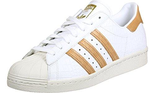 Adidas Originals 80 Originales Superestrella Entrenadores De Los Hombres Us8 Blanco Barato 100% Auténtico b19ZAeM3qe