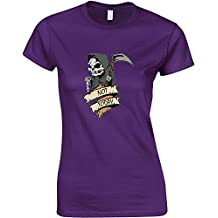 Brand88 - Not Today, Ladies Printed T-Shirt
