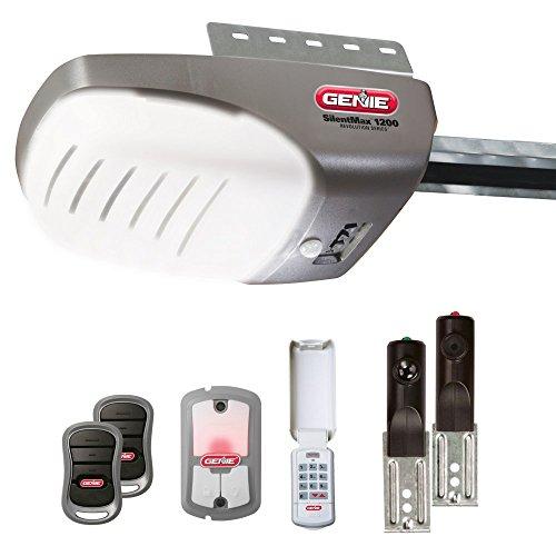 genie-4042-tkh-silentmax-1200-3-4-hpc-dc-belt-garage-door-opener-with-2-3-button-remote-wall-console