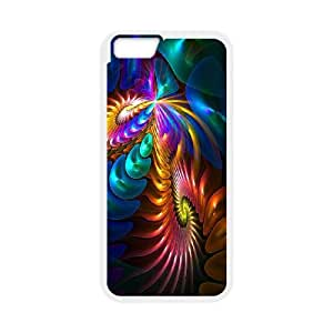 Colorful Fantasy Trippy iPhone 6 4.7 Inch Cell Phone Case White O2452961