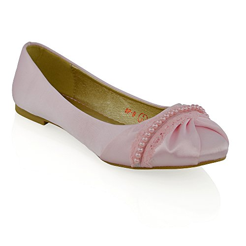 Pastel Pink Satin - 6