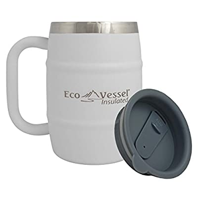 Eco Vessel Double Barrel Insulated Beer/Coffee Mug