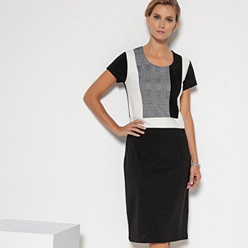 Kleid Redoute Weyburn Bunt Milanostretch Frau Anne Gerades Aus La SOqgwTRRx