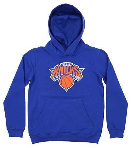 Outerstuff NBA Youth Boy's (8-20) Primary Logo Team Color Fleece Hoodie, New York Knicks - New Fleece York Team Knicks