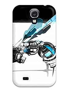 Quality ZippyDoritEduard Case Cover With Robot Bee Nice Appearance Compatible With Galaxy S4