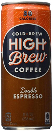 High Brew Coffee Double Expresso - 8 oz - 12 Pack
