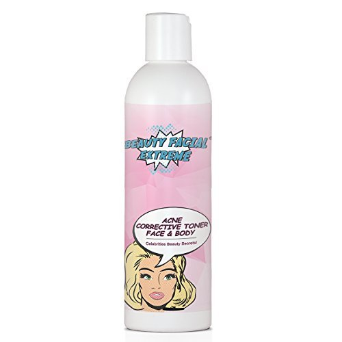 Acne Corrective Toner - Clearing Astringent with 2% Salicylic Acid for Breakouts, Pimples, Whiteheads & Blackheads. Dissolves Away Pore Clogging Oils without Over Drying your Skin for Face & Body.