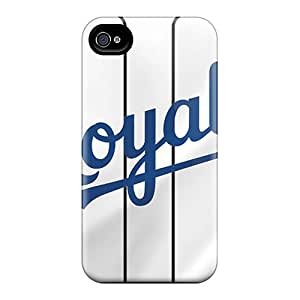 Excellent Hard Phone Cover For Iphone 6plus (pFZ14555XtAJ) Customized Stylish Kansas City Royals Image
