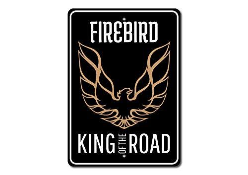 - The Lizton Sign Shop Firebird Sign, Firebird Logo Sign, Firebird Owner Gift, Firebird Lover Gift, Chevy Pontiac Car Decor - Quality Aluminum Sign - 10