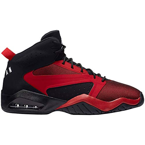 red and black jordans - 5
