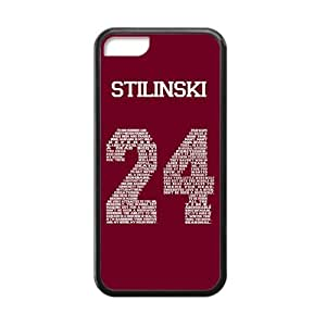 Perfect life store Teen Wolf Genim Stilinski 24 on Black Rubber case for iphone 5C