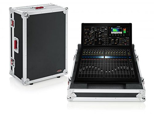 Midas Mixing Consoles - Gator Cases G-TOURM32RNDH Tour Style Road Case for Midas M32R Mixing Console with Recessed Wheels