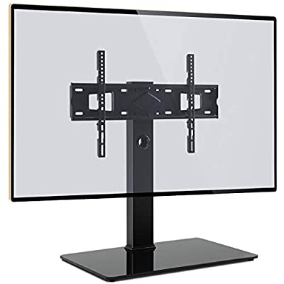 Rfiver Universal Swivel TV Stand Table Top TV Stand Base with Mount for LCD LED TVs